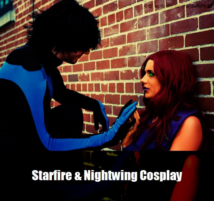 Starfire Nightwing Cosplay 2