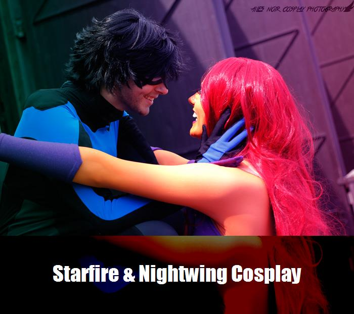 Starfire Nightwing Cosplay 3