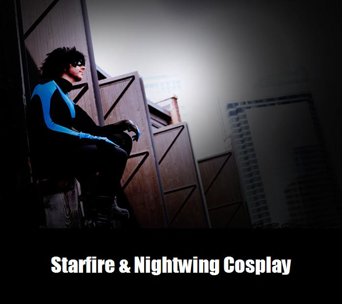 Starfire Nightwing Cosplay 5