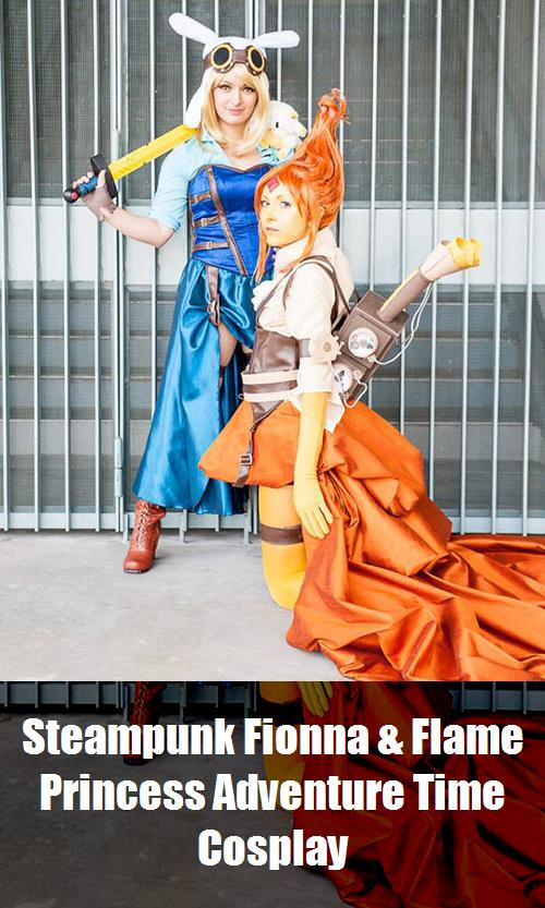 Steampunk Fionna Flame Princess Adventure Time Cosplay