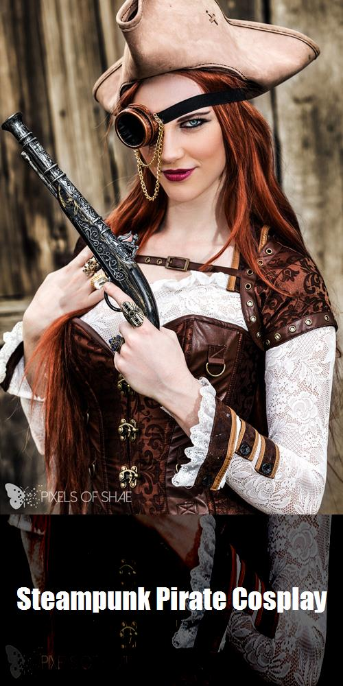 Steampunk Pirate Cosplay 6