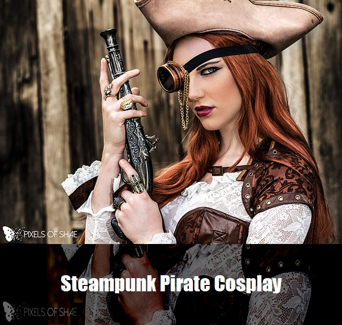 Steampunk Pirate Cosplay 7