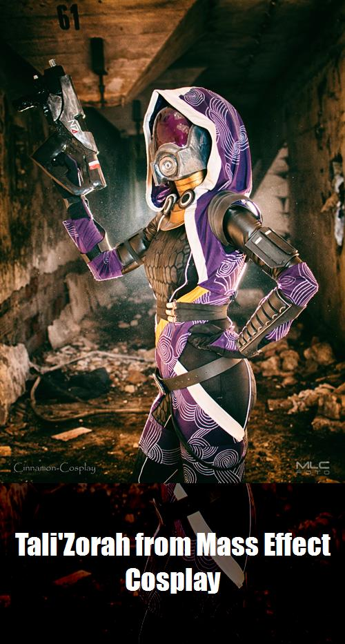 Talizorah From Mass Effect Cosplay