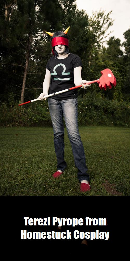 Terezi Pyrope From Homestuck Cosplay