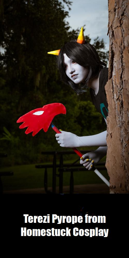 Terezi Pyrope From Homestuck Cosplay 3
