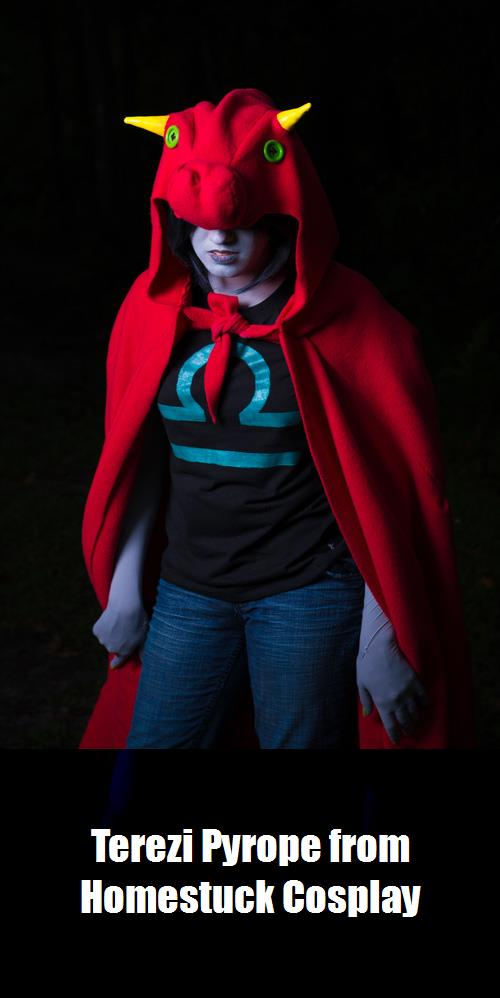 Terezi Pyrope From Homestuck Cosplay 4