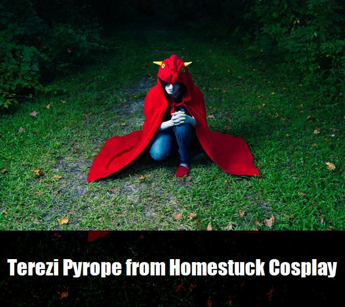 Terezi Pyrope From Homestuck Cosplay 6