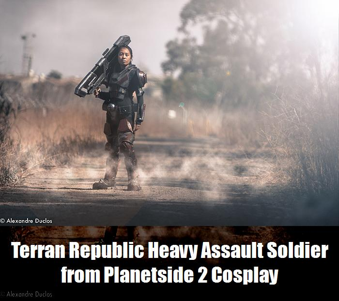 Terran Republic Heavy Assault Soldier From Planetside 2 Cosplay 2