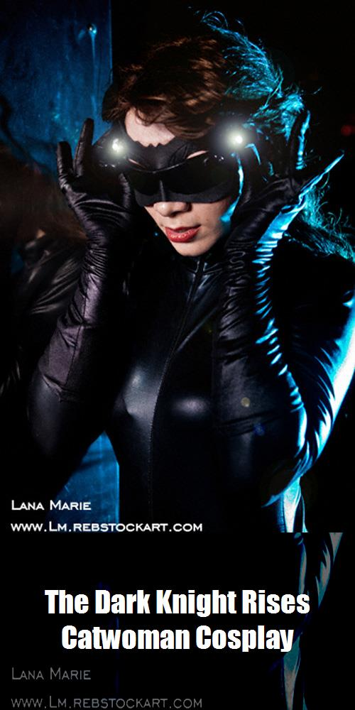 The Dark Knight Rises Catwoman Cosplay 1