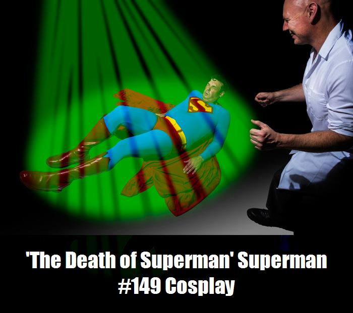 The Death Of Superman Superman 149 Cosplay