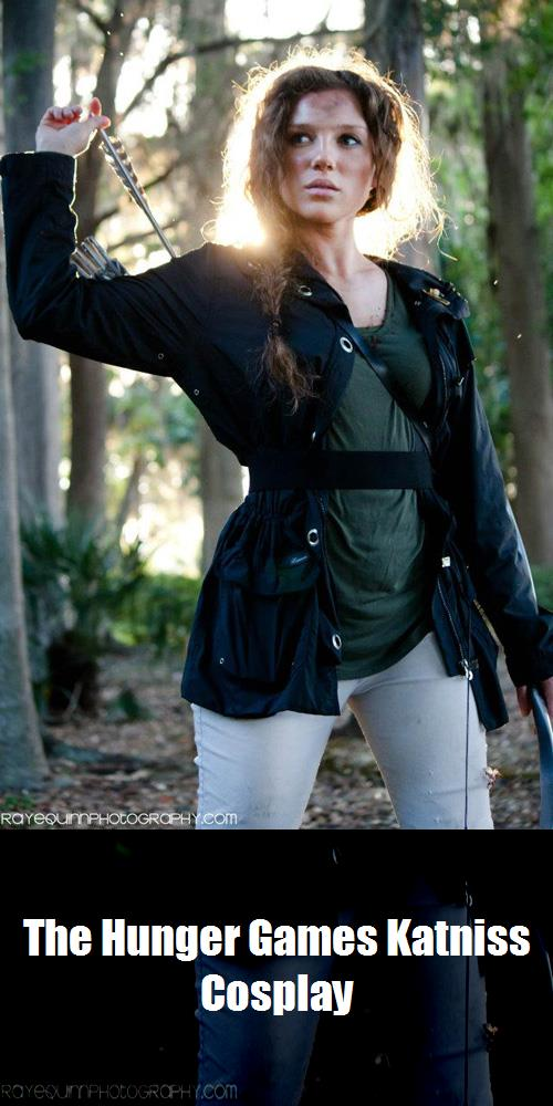 The Hunger Games Katniss Cosplay 1