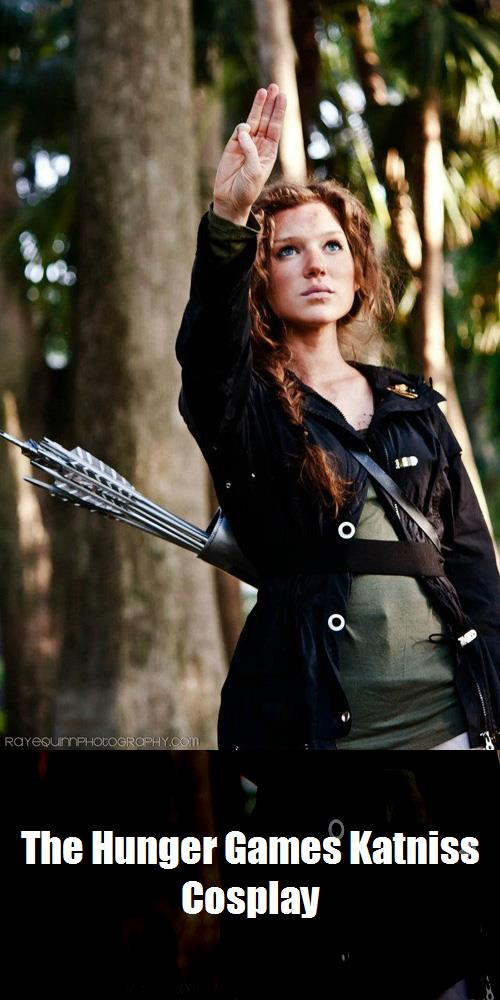 The Hunger Games Katniss Cosplay 3