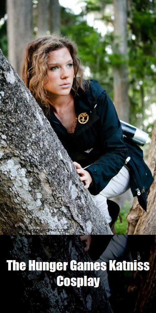 The Hunger Games Katniss Cosplay 4