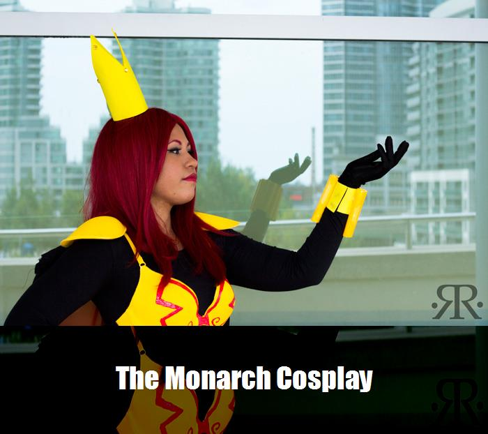 The Monarch Cosplay 3