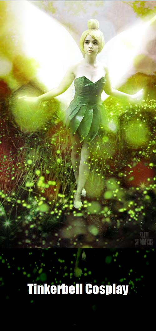 Tinkerbell Cosplay 1