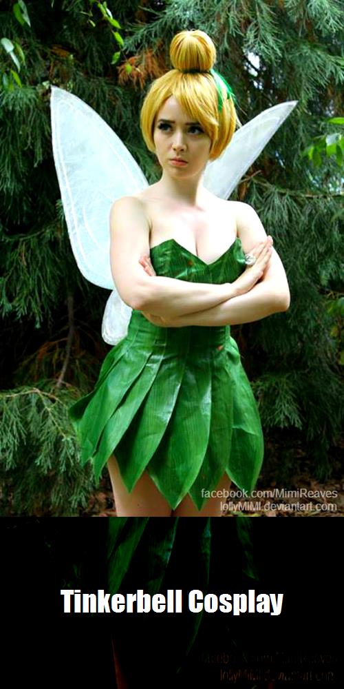 Tinkerbell Cosplay 3
