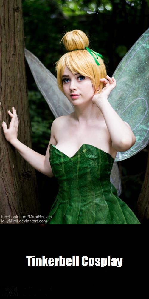 Tinkerbell Cosplay 5