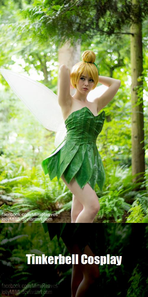 Tinkerbell Cosplay 6