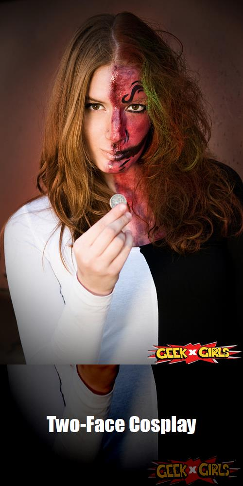 Two Face Cosplay 1