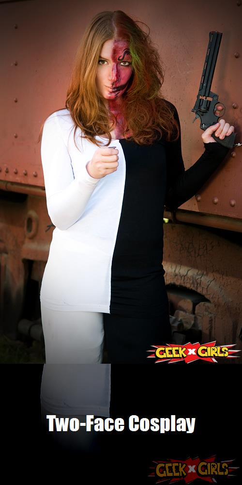Two Face Cosplay 2