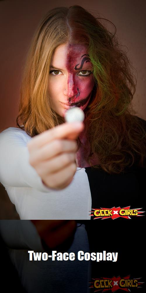 Two Face Cosplay 3