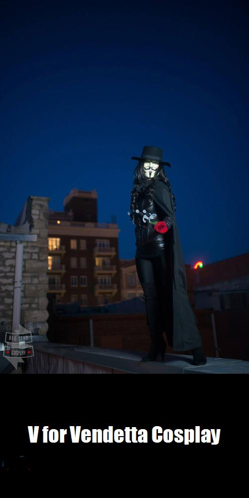 V For Vendetta Cosplay 6