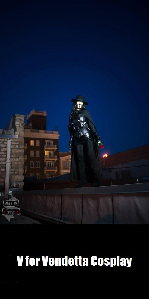 V For Vendetta Cosplay 7