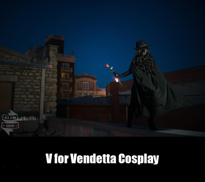 V For Vendetta Cosplay 8