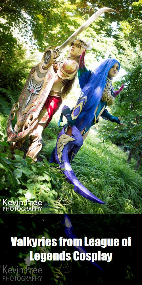 Valkyries From League Of Legends Cosplay