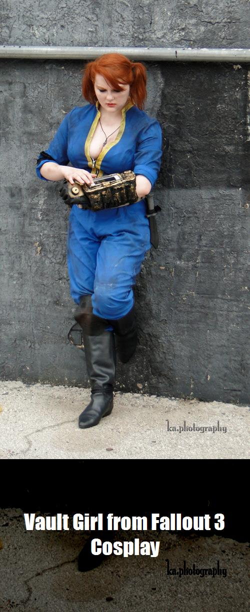 Vault Girl From Fallout 3 Cosplay 2
