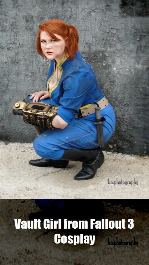 Vault Girl From Fallout 3 Cosplay 3