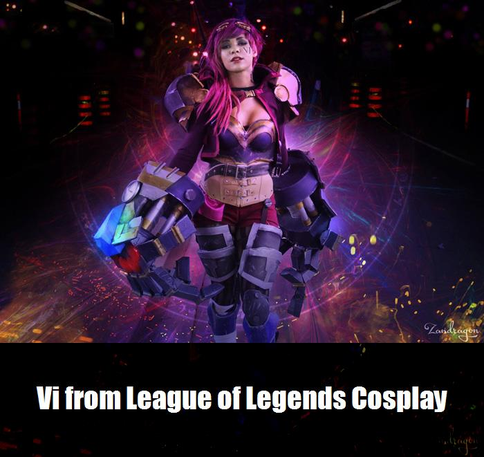 Vi From League Of Legends Cosplay