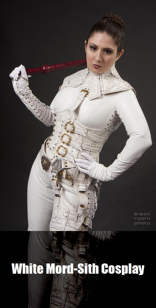 White Mord Sith Cosplay 1