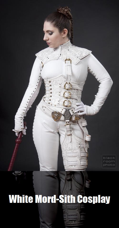 White Mord Sith Cosplay 2