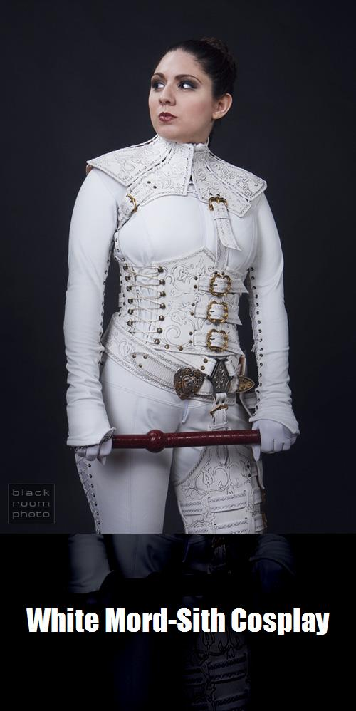 White Mord Sith Cosplay 3
