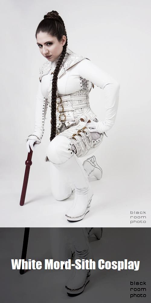 White Mord Sith Cosplay 4