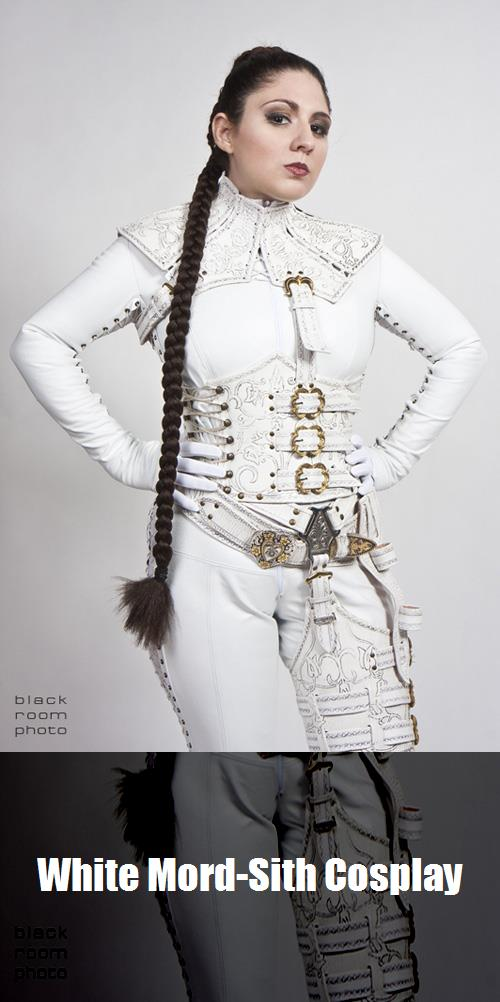 White Mord Sith Cosplay 5