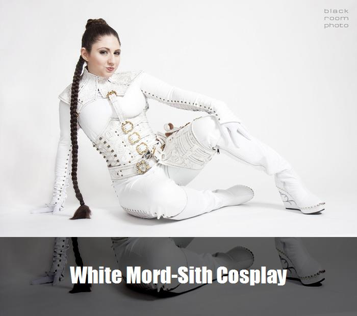 White Mord Sith Cosplay 6