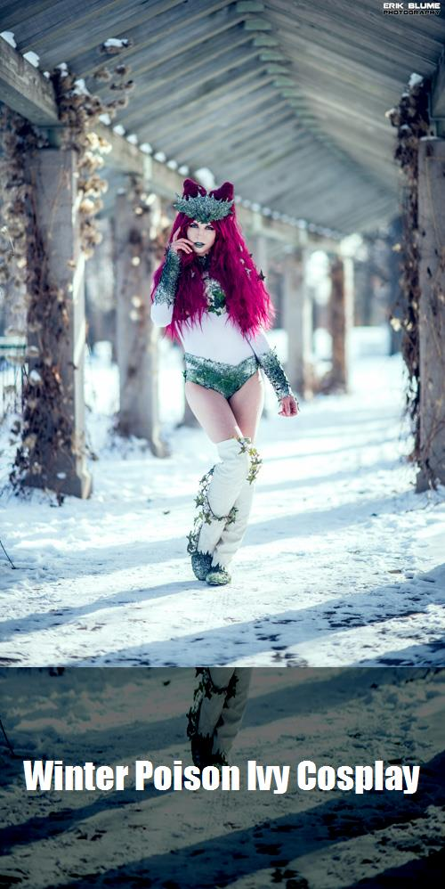 Winter Poison Ivy Cosplay