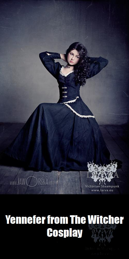 Yennefer From The Witcher Cosplay
