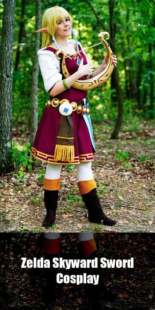 Zelda Skyward Sword Cosplay 1
