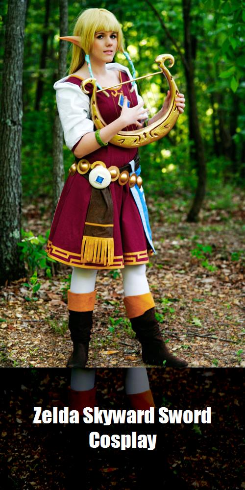Zelda Skyward Sword Cosplay 6