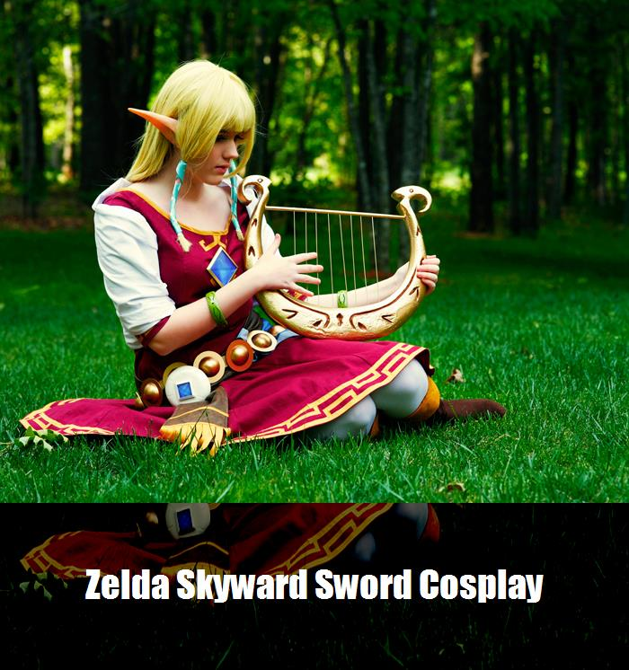 Zelda Skyward Sword Cosplay 7