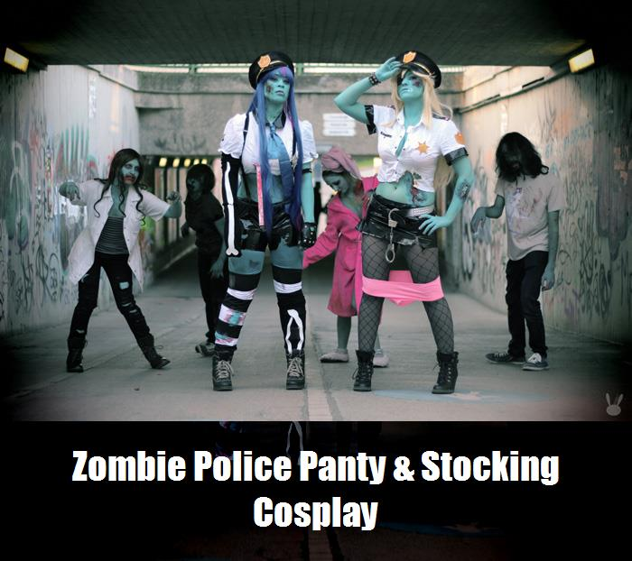 Zombie Police Panty Stocking Cosplay 1