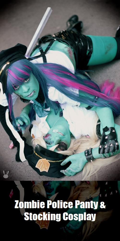Zombie Police Panty Stocking Cosplay 2