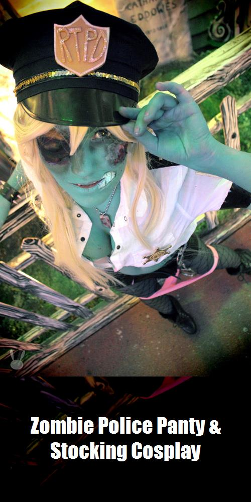 Zombie Police Panty Stocking Cosplay 4