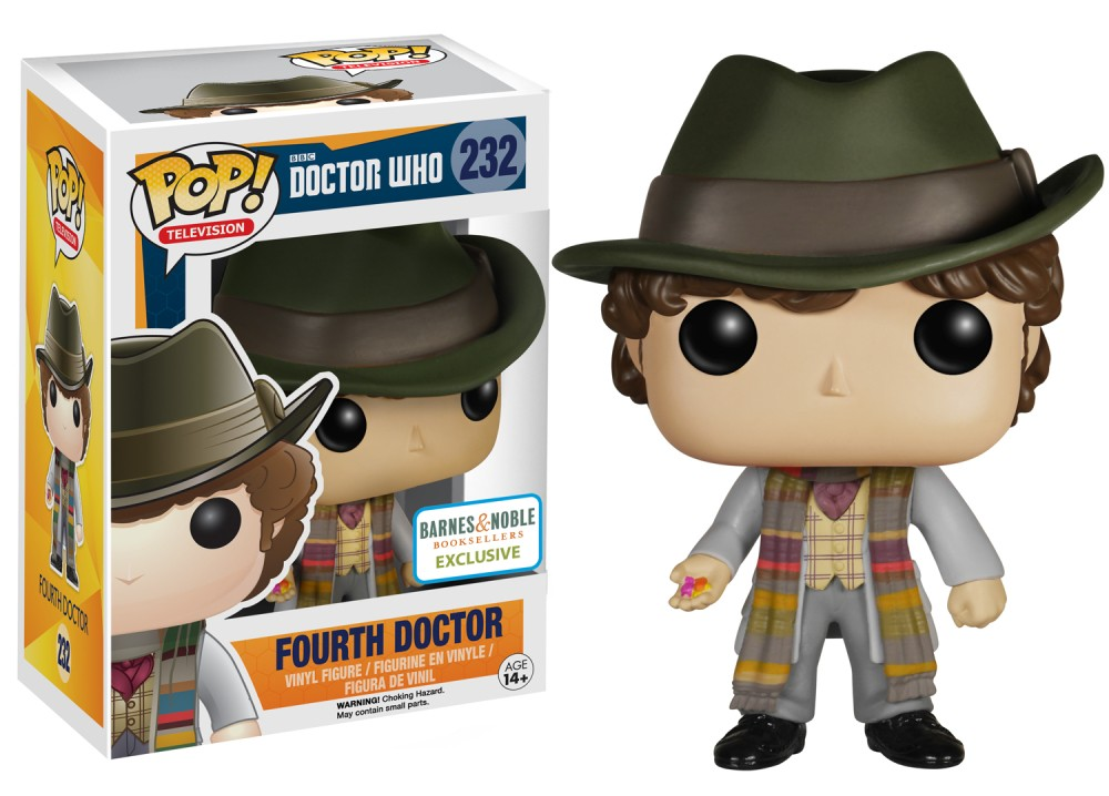 Funko Pop! 4th Doctor (w/ Jelly) (Doctor Who)