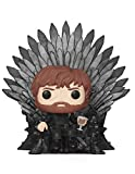 Funko- Pop Deluxe: Game of S10: Tyrion Sitting on Iron Throne Figura Coleccionable, Multicolor (37404)