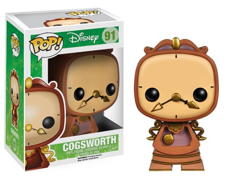 Funko Pop! Cogsworth (Beauty and the Beast)