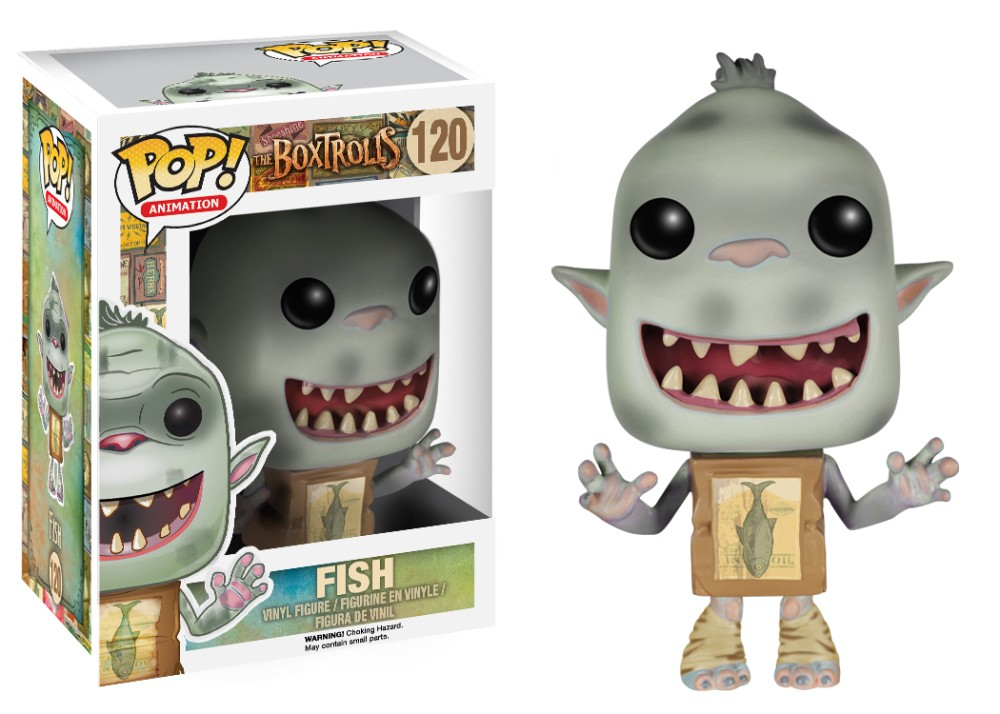 Funko Pop! Fish (Boxtrolls)